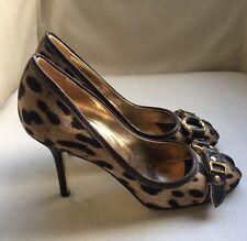 Dolce & Gabbana Heels Size 35EU/2UK, Leopard Print, Black Tie/Glamour Party