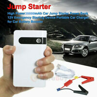 20000mAh Portable Car Jump Starter Power Bank Vehicle Battery Charger Engine 12V