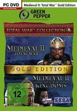 PC Computer Spiel ***** Medieval 2 II Total War Gold Edition ************NEU*NEW