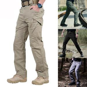 Mens Hiking Tactical Trousers Outdoor Waterproof Fishing Walking Regatta Pants