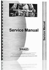 Service Manual International Harvester 615 715 Combine