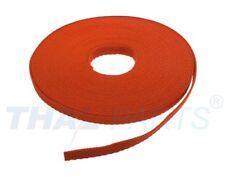 10m Gurtband 25mm Breit - ca. 1,6mm stark - Orange PP Taschengurt Taschenband