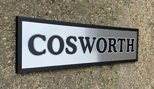 Cosworth LED Mural Allumer Signe Logo Garage Automobilia Sierra Escort Rs Turbo