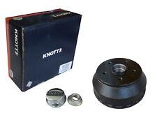 """Brake Drum BRAKING Hub Knott Original 200x50 10 """" Set 28744C02 5x112 + Bearing"""