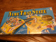 NAME THE STATES A U.S. GEOGRAPHY GAME  NEW 1988