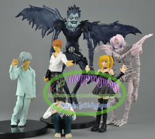 6 pcs Death Note Light Amane Misa Ryuk L Rem Nate River PVC Figure Set X'mas