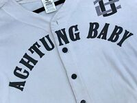 U2 Vintage, Rare ACHTUNG BABY PROMO BASEBALL JERSEY 1992 / VG Condition One Size