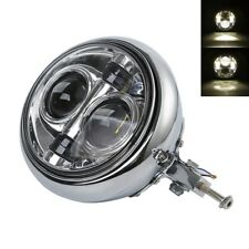 "7"" LED Daymaker Headlight Bulb Bucket Assembly For Harley Softail Fatboy 1986-11"