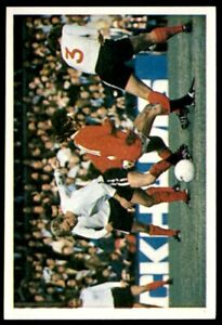 Leaf 100 Years of Soccer Stars 1988  -  George Best (Manchester United) No. 63