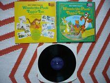 Walt Disney Winnie The Pooh Vinyl UK 1974 Disneyland Storyteller Vinyl LP & Book