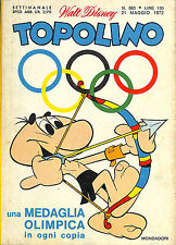 [138] TOPOLINO ed. Mondadori 1972 n.  860 stato Ottimo