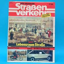 Der Deutsche Straßenverkehr 3/1988 Saporoshez SAS 1102 Szigliget Rudolstadt F