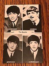 THE BEATLES BLACK & WHITE POSTCARD  1963