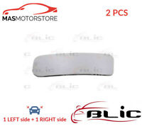 REAR VIEW MIRROR GLASS PAIR LHD ONLY BLIC 6102-02-1281399P 2PCS I NEW