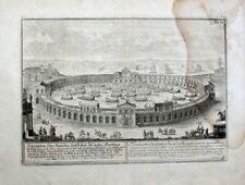 Fischer von Erlach Naumachie Domitiani Seeschlacht Gladiator Galeere Rom Antike