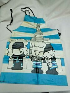 HOMEPRIDE FRED APRON  VINTAGE BLUE AND WHITE  SPILLERS  1979