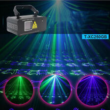 200mw Green Blue beam scan laser light sound country DMX stage Xmas party light