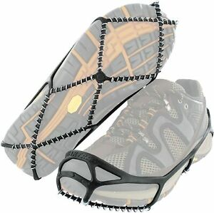 1Pair Walk Winter Traction Cleats for Snow Ice Size M/L Spikeless Walking Hiking
