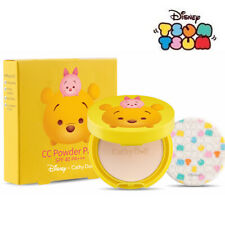 [CATHY DOLL x DISNEY TSUM TSUM] Pooh CC Powder Pact SPF40 PA+++ LIGHT BEIGE 4.5g