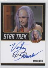 2016 Rittenhouse Star Trek 50 #VIBR Victor Brandt as Tongo Rad Auto Card 0a2