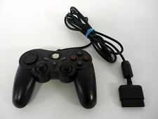 PELICAN WIRED PS2 CONTROLLER Sony Playstation Model PL-6604 Black TESTED & WORKS