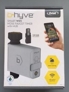 ORBIT B-HYVE SMART WIFI / BLUETOOTH HOSE FAUCET TIMER WITH WIFI HUB INCLUDED