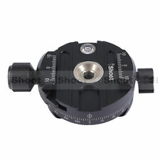 iShoot Panorama Clamp for RRS/ ARCA-SWISS/SUNWAYFOTO Camera Tripod Ball Head