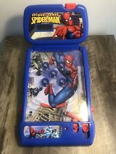 2009 Marvel Spider Sense Spiderman mini tabletop pinball machine Works Rare Nice