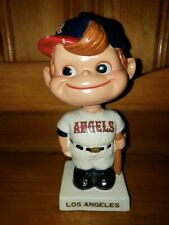 Los Angeles Angeles Square White Base Bobbin Head/Nodder/Bobbing Head 1961 Nice