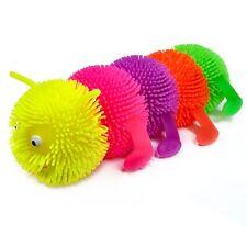Flashing Squashy Caterpillar Sensory Toy - Fiddle Fidget Stress Sensory Birthday