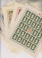 CROATIA WW II, red cross 1942,sheets set,MNH ,usual demages on gum