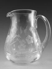 "Royal DOULTON Crystal - BOUQUET Cut - Water Jug - 5 1/2"""