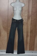 WOMEN'S TRUE RELIGION JOEY STRETCH DENIM JEANS-SIZE: 25