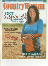 COUNTRY WOMAN FEB/MAR 2010 MAGAZINE DEBBIE MACOMBER KNITTING BAKING COOKING