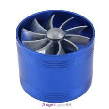 64mm Car Turbo Turbine Charger Air Filter Intake Gas Fuel Saver Single Fan Vent