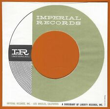 IMPERIAL  REPRODUCTION RECORD COMPANY SLEEVES - (pack of 10)