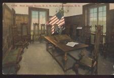 Postcard WASHINGTON DC  D.A.R. Hall Jersey Room Interior view 1907