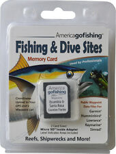 Escambia and Santa Rosa Counties Fishing & Dive Sites Memory Card
