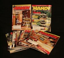 LOT OF 12 HANDY MAGAZINE JUL 05-JUN 07 REMODLING HAND CRAFTED WOODWORKING TOOLS