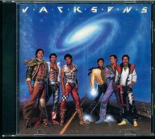 Jacksons - Victory CD Japan 35.8P 50 black/silver label