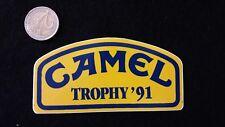 a17 Adesivo Sticker   CAMEL TROPHY  ' 91      mint