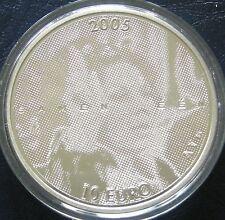 Nederland - 10 Euromunt 2005 Jubileum munt Zilver Proof in capsule
