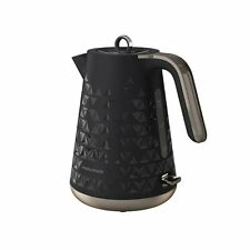 Morphy Richards 108251 Prism Fast Boil Black Jug Cordless Kettle 1.5L 3000W