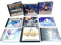 [JAP] Lot de 9 jeux Playstation 1 / PS1 - NTSC-J - Gpolice, XI, Actua Golf 2…