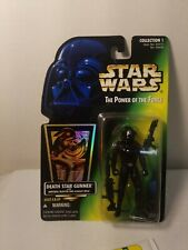 STAR WARS POTF DEATH STAR GUNNER WITH IMPERIAL BLASTER AND ASSAULT RIFLE