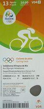 TICKET 13.8.2016 Olympia Rio Radsport Cycling Track # V04