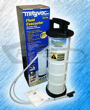 MITYVAC 7400 7.3L FLUID EVACUATOR 1.9 GALLON MIGHTY VAC MITY VAC MITY-VAC