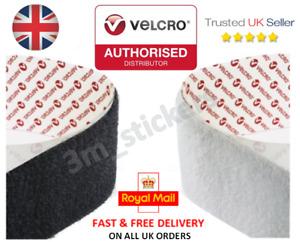 VELCRO® PS14 GENUINE BRAND SELF ADHESIVE STICK ON TAPE HOOK & LOOP STRIPS