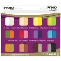 Sculpey Premo Sampler Clay Most Popular Colours Accents Jewellery Sculptures