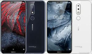 "Original Nokia 6.1 Plus (Nokia X6) 64GB 4GB RAM 4G LTE 16MP 5.8"" Smartphone"